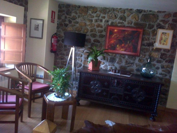 salon rustico casa de alquiler