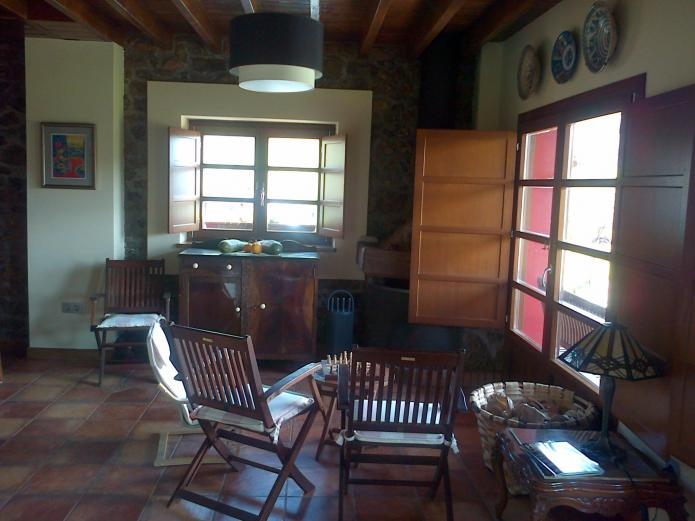 casa rural con salon
