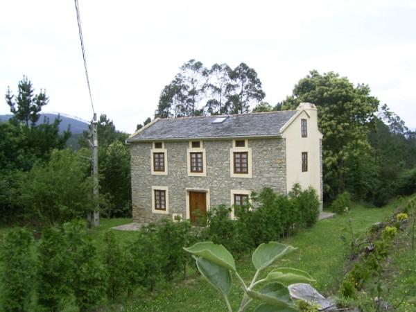 casa rural con finca privada
