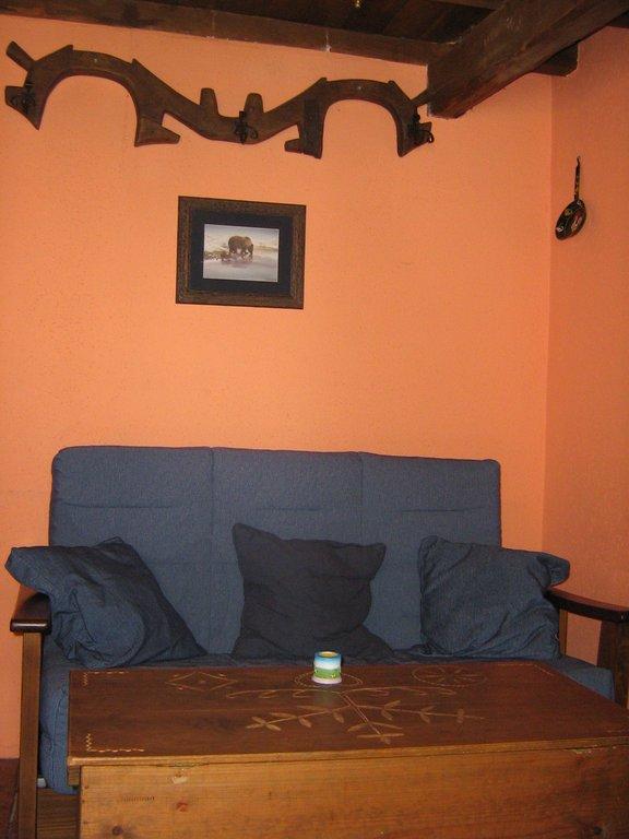 casa rural sala de estar