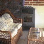 sala de estar casa rustica