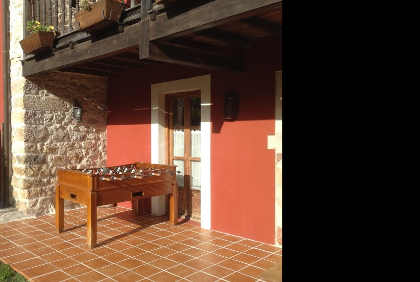 casa rural futbolin asturias