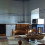 casa rural con cocina