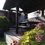casa rural con merendero