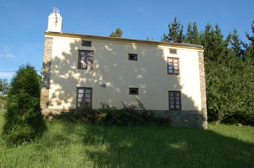 casa rural con finca asturias