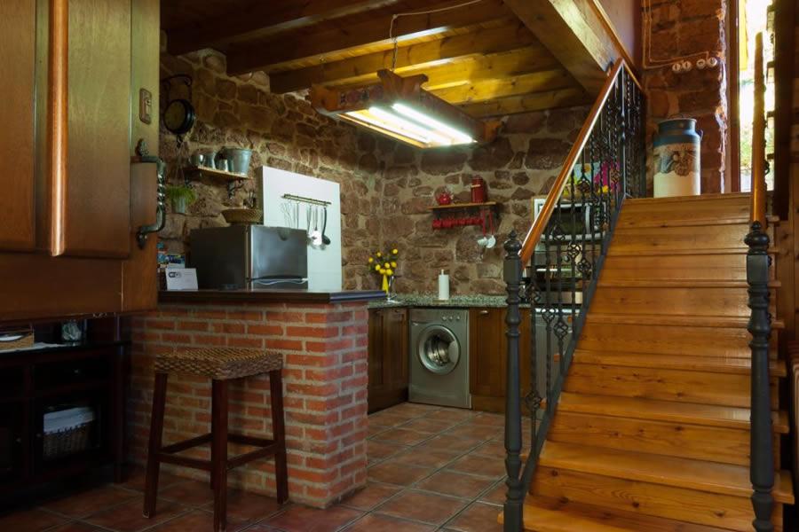 casa de aldea de piedra