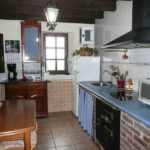 cottage con cucina