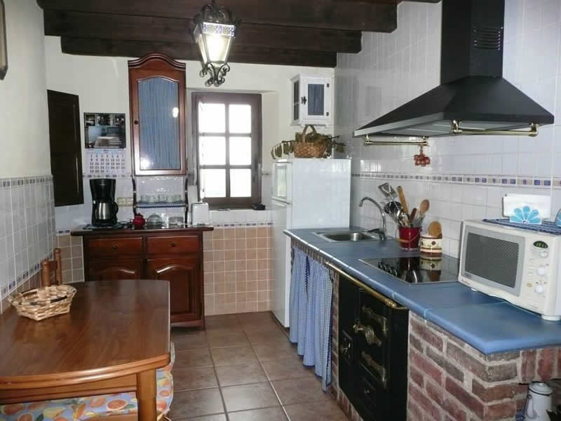 cottage with kitchen