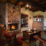 Cottage com lareira