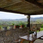 casa rural com terraço