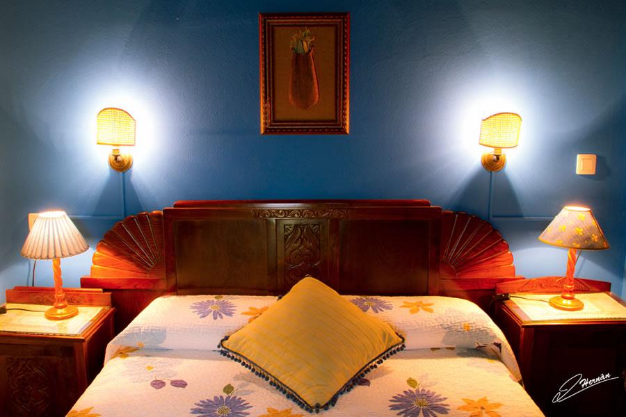 cama matrimonial casa rurall