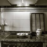 cocina en casa de aldea