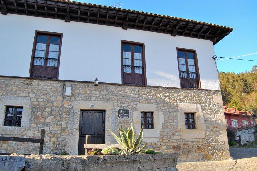 traditional asturian village house