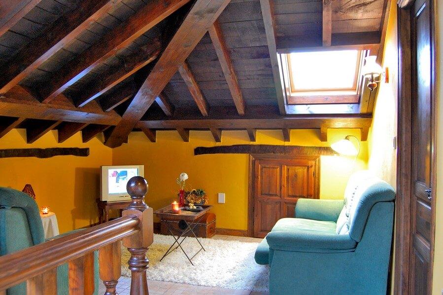 casa de aldea de madera