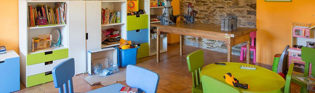casa rural para niños